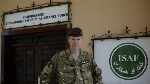 Confident ... Lieutenant-General Adrian Bradshaw said the Koran burning had not affected the underlying strength of the ...