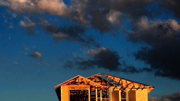 Building approvals have dropped to their lowest level in almost three years.