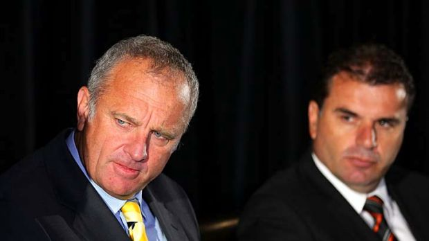 Graham Arnold and Ange Postecoglou.