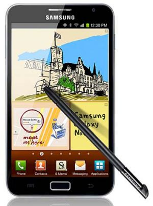 The Samsung Galaxy Note.