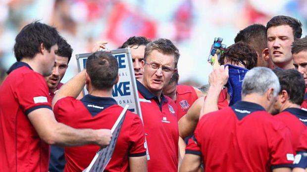 Rumours: Demons coach Mark Neeld.