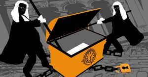 Close to the chest … increasingly, the Family Court is considering trusts as marital property. <i>Illustration: ...