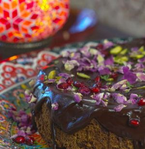 Debbie Skelton's Turkish torte.