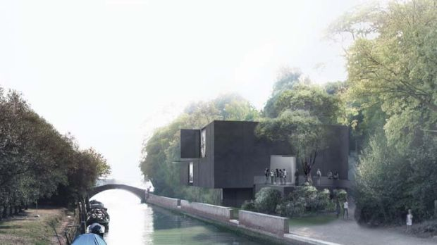 Modest and elegant ... a concept image of the new Australian Pavilion in Venice, which will be ready in 2015. It ...
