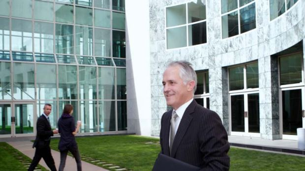 """''I think we are more likely to see leadership out of China than America"""" ... Malcolm Turnbull."""