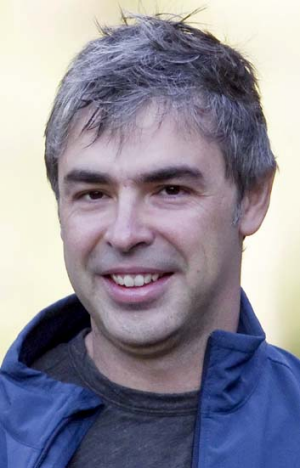 Facebook fixation ... Google CEO Larry Page.