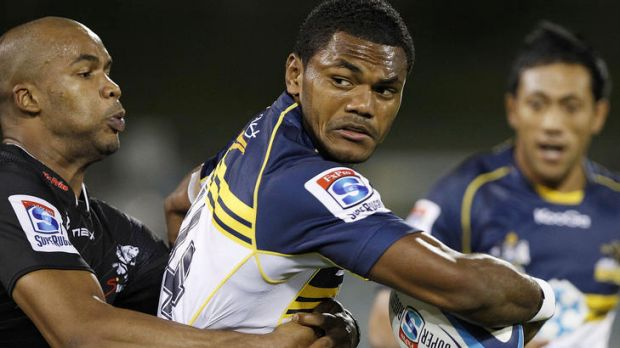 Brumbies winger Henry Speight's family in flood-ravaged Fiji are safe and they will be able to watch tomorrow's match ...