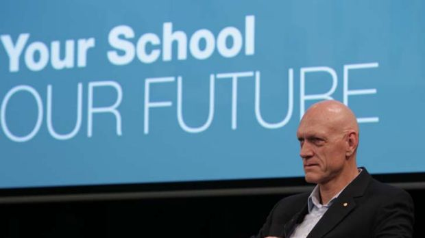 """Peter Garrett, is faced with outright hostility from some states to the reform proposals outlined in the Gonski review ..."