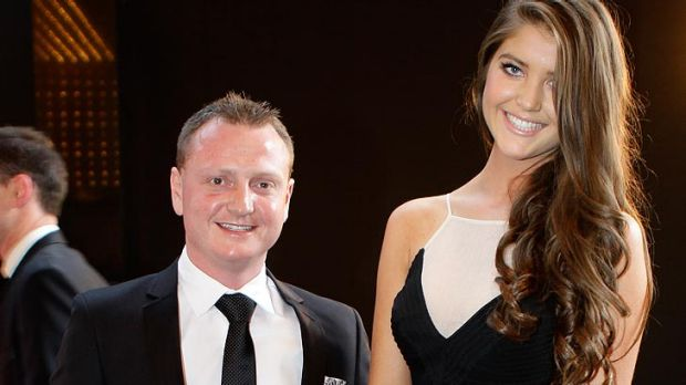Outrageous ... Ben Polis, pictured at last year's Brownlow Medal count.