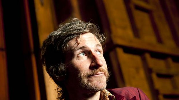 Acting out ... Tim Rogers.