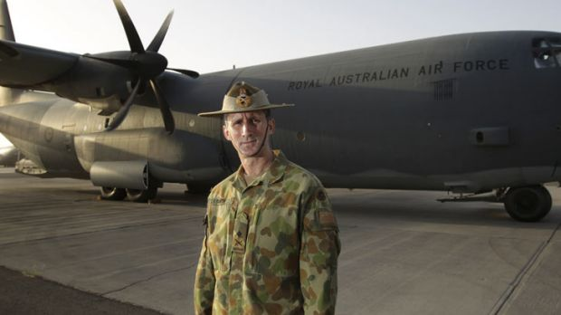Major-General Stuart Smith, commander of Australian operations in the Middle East.