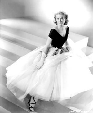 Grace Kelly in an Edith Head-designed dress.