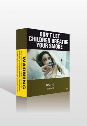 The Gillard government is rebutting cigarette companies' claims that plain packaging undermines their intellectual ...