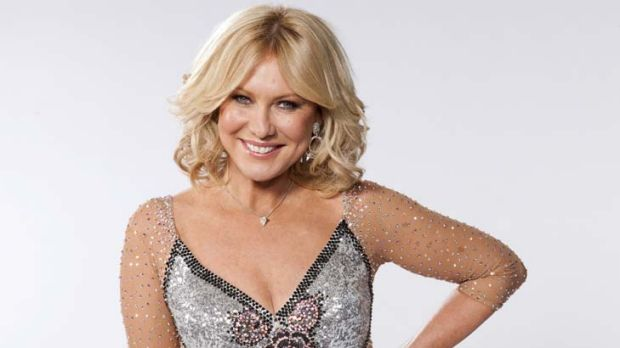 Strutting her stuff ... Kerri-Anne Kennerley.