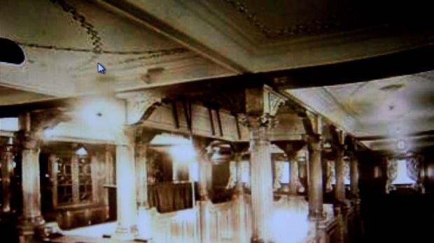 Seagoing opulence ... the interior of the SS Koombana.