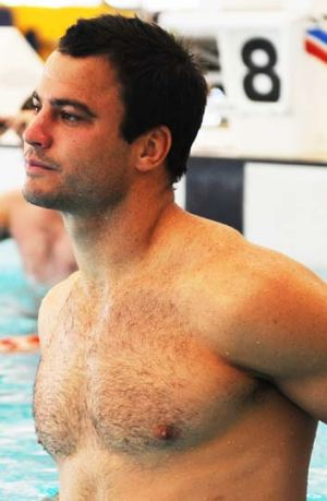 A hunk of a man ... David Shillington.