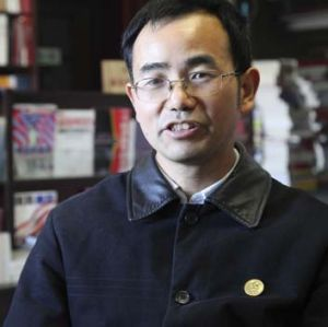 "Authorities said that Han Deqiang's website ""violated the constitution, maliciously attacked state leaders and ..."