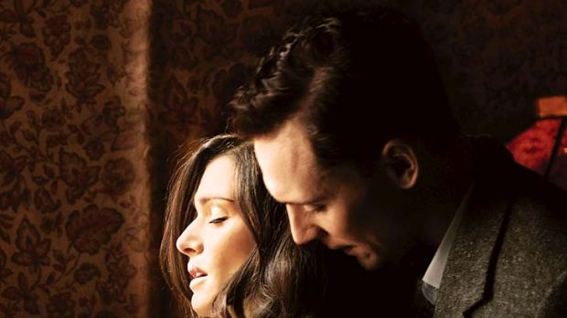 Pure passion … Rachel Weisz and Tom Hiddleston discover a kiss isn't just a kiss.