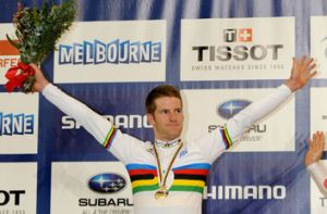 Winning ticket... Glenn O'Shea's omnium victory gives him a strong shot of achieving his Olympic dream.