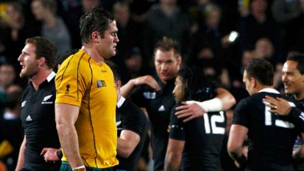 Right man for the top job? ... Wallabies captain James Horwill.