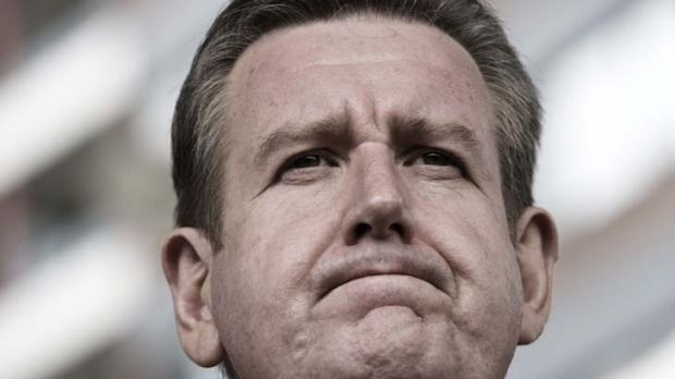 """""""No"""" ... the word that could haunt the leadership of Barry O'Farrell."""