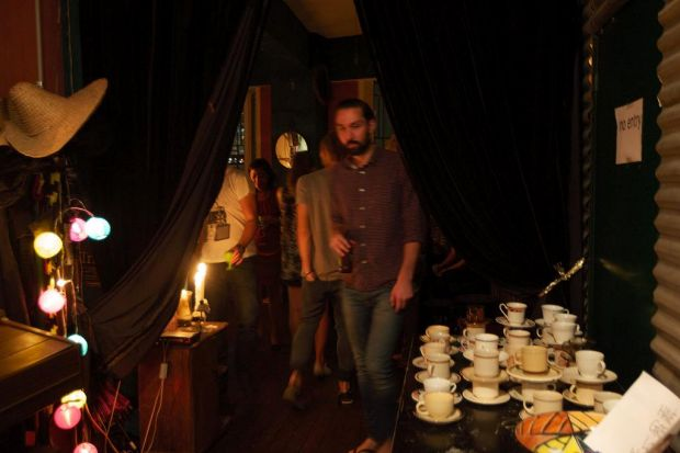 'High Tea' is an exclusive alternative music venue.