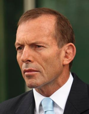 Still opposed: Tony Abbott.