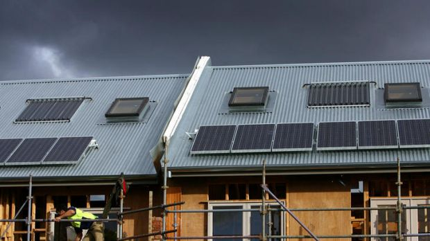 All new homes in Victoria are required to be built with a six-star energy rating.