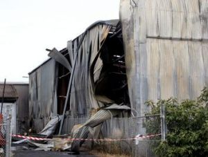 The fire caused more than $1 million damage.