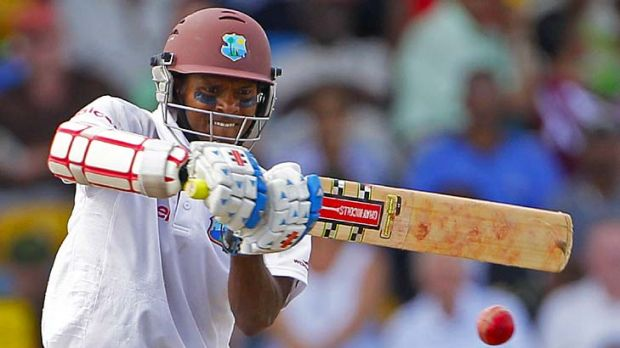 Shivnarine Chanderpaul defied the Australian bowlers for 418 minutes.