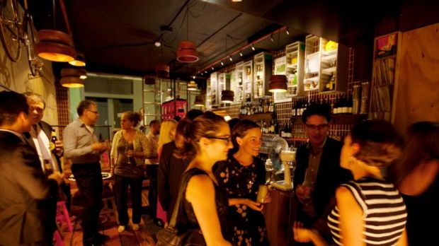 Right up your alley ... relaxed, Euro-style laneway bar York Lane at Wynyard is close to other CBD hot spots.