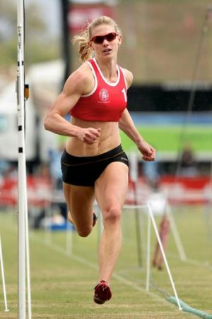 Melissa Breen goes through to the Women's Gift final.