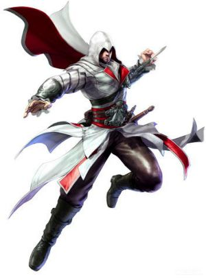 Ezio from <i>Soulcalibur V</i>.
