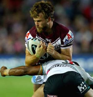 Manly's David Williams.