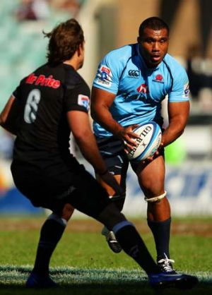 New deal ... Wycliff Palu has re-signed with the Waratahs