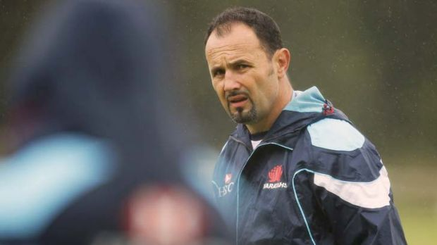 """""""Become loud and proud"""" ... Waratahs coach Michael Foley."""