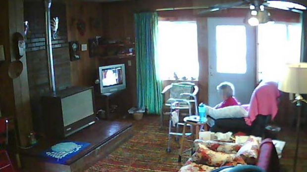 Martha ... live footage from inside her home can be watched by anyone with an internet connection.