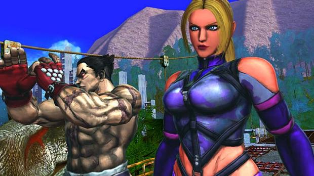 <em>Tekken</em> character Nina in <em>Street Fighter x Tekken</em>.