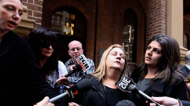 ''No punishment is enough'' … Frederica Bromwich, the mother of Anthony Zervas, outside the court yesterday. She ...