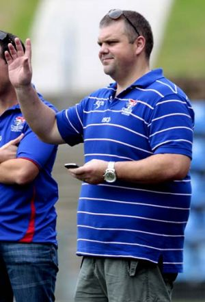 Waving goodbye ... Nathan Tinkler has handed in his A-League licence.