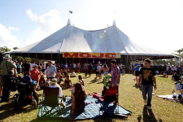 Byron Bay Bluesfest.