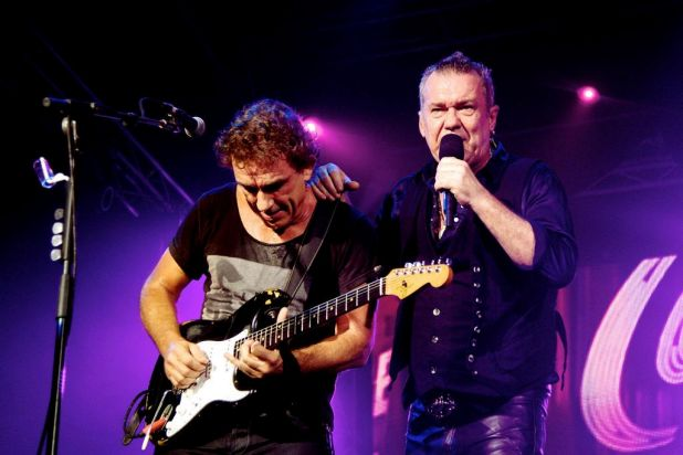 Byron Bay Bluesfest. Jimmy Barnes and Ian Moss from Cold Chisel.