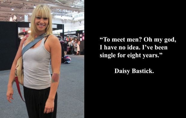 Daisy Bastick at Sexpo.