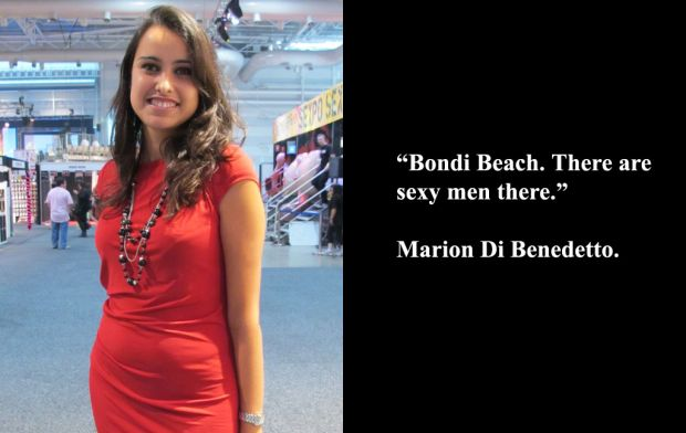 Marion Di Benedetto at Sexpo.