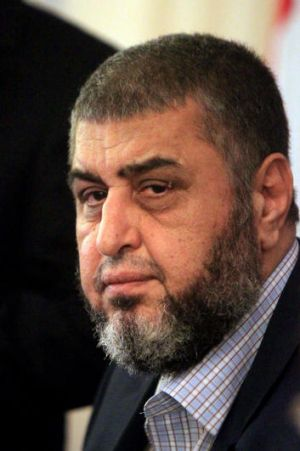 Khairat Shater, the presidential candidate of Egypt's Muslim Brotherhood.