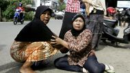 Panic but no disaster after Indonesian quakes (Video Thumbnail)