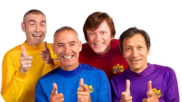 Reunited ... The Wiggles.