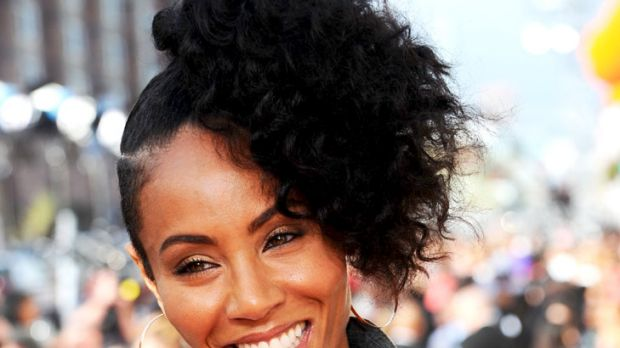 On the radar ... Jada Pinkett Smith is riding out the gossip storm.