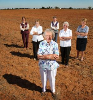 Berrigan CWA members (from left) Jenny Coldwell, Bev Arnold, May Hill, Beth Trewarne, Joan Crew and Kate Hawkins.
