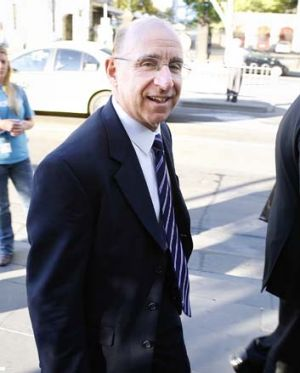 Glenn Rufrano, former head of Centro's US operations, leaves court yesterday.